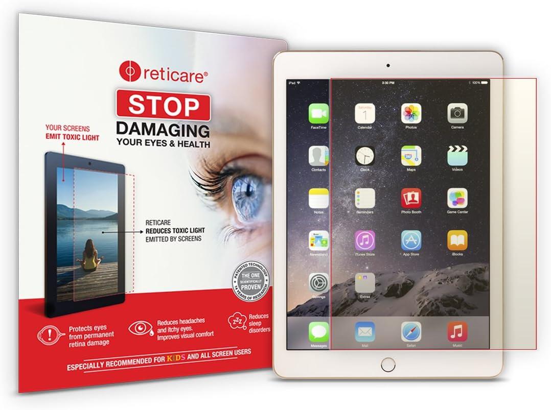 RETICARE 352T-9607-B Protector de Ojos Compatible con Apple iPad 9.7