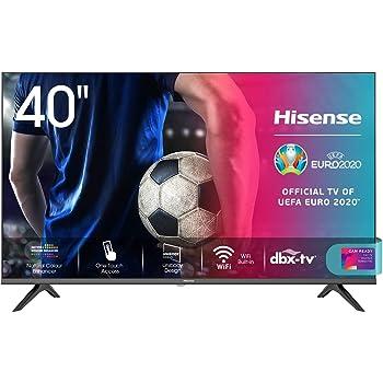 "Hisense 40AE5500F Smart TV LED FULL HD 1080p 40"", Bezelless, USB Media Player, Tuner DVB-T2/S2 HEVC Main10 [Esclusiva Amazon - 2020]"