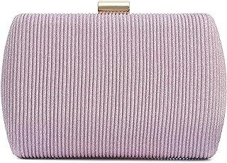 Vain Secrets Damen Abendtaschen Clutch Umhänge Tasche Handtasche geflochten Hard Case in vielen Farben
