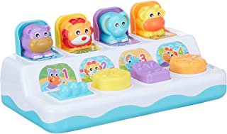 Playgro Baby Toy 4086994 Music and Lights Pop Up Jungle Pals Baby Preschool Toddler Toy, Infant and Up, Playgro is Encouraging Imagination with STEM/STEM Baby Toys for a Bright Future