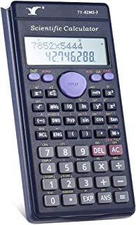 Bundle of 2, Goolsky Scientific Calculator Counter 240 Functions 2 Line LCD Display Business Office Middle High School Stu...