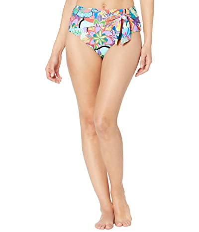 Bleu Rod Beattie Make It Pop High-Waist Draped Bottoms (Multicolored) Women