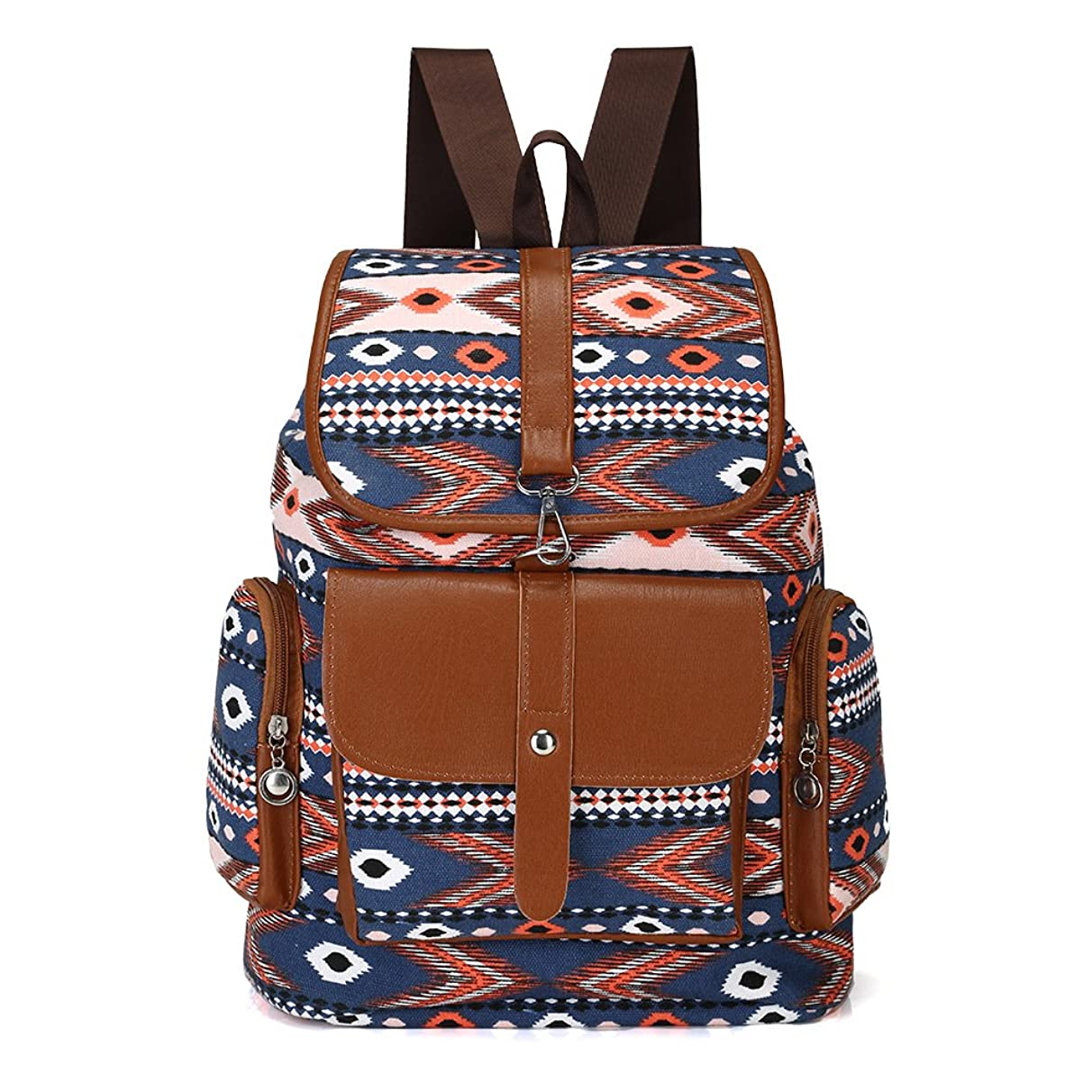 MMTC Fashion Sail Ladies Backpack, Simple Women's Canvas Shoulder Bag Tide