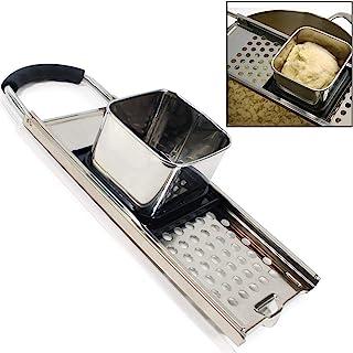 Premium Grade Stainless Steel Spaetzle Maker with Comfort Grip Handle Traditional German Egg Noodle Maker