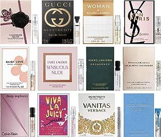 Women's Perfume Sampler Lot x 12 Sample Vials - High End Fragrance Samples (Set 1)