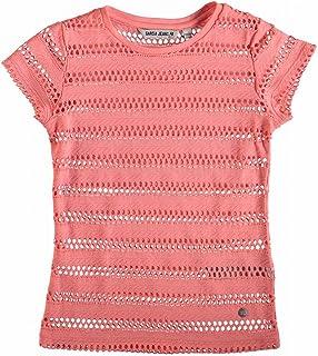 Garcia Kids Mädchen T-Shirt im Doppelpack B72628 rot//beige