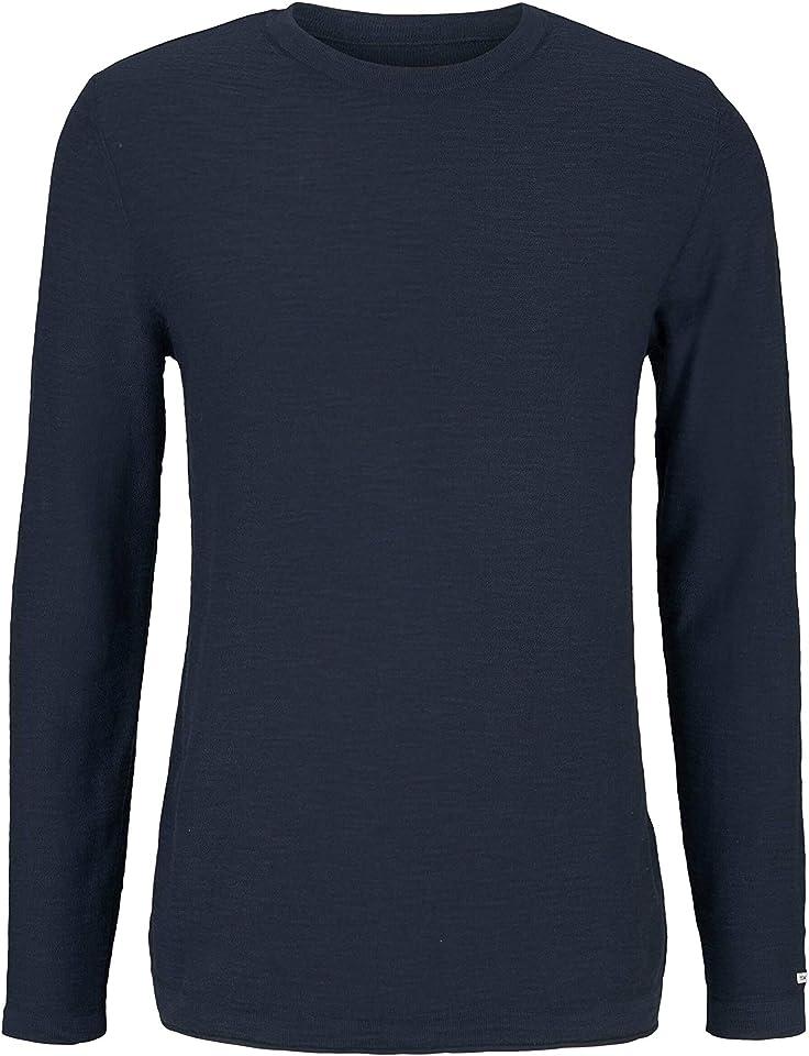 Men's Washed Crewneck Pullover