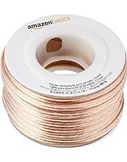 Amazonベーシック スピーカーケーブル 16ゲージ 15m
