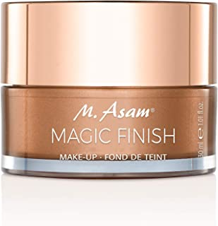 M. Asam, Magic Finish, Lightweight, Wrinkle-Filling Makeup Mousse, 4-In-1, Primer, Concealer, Foundation and Powder - 1.01...
