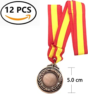 Durabol 12 Medalla Deportiva Metal Cinta España (Bronce, 5): Amazon.es: Deportes y aire libre