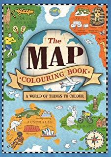 The Map Colouring Book: A World of Things to Colour