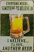 Nafico Decorative Signs Metal Iron Tin Sign Retro Vintage Beer Wall Decoration Art Bar Home Decor 8
