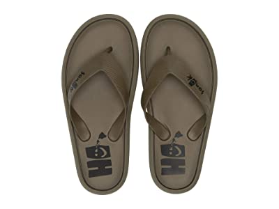 Sanuk Sidewalker Hawaii (Olive Hawaii) Men
