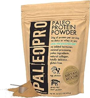 PaleoPro Protein Powder, Gluten Free, Dairy Free, Whey Free, Soy Free, No Added Hormones, Pastured Grass-fed Beef, Minimal...