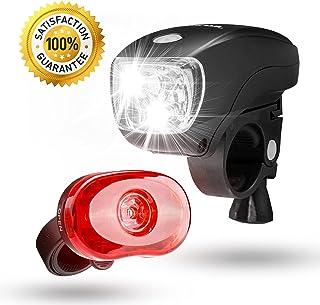 SAMLITE Best Brightest LED Bike Light Set for Kids &...