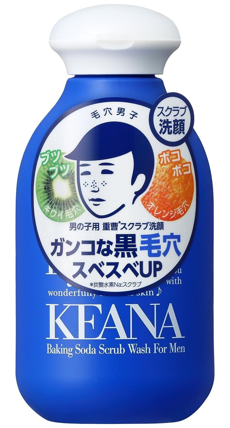 危険にさらされている積極的にシーケンス毛穴撫子 男の子用 重曹スクラブ洗顔N 100g