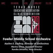 2014 Texas Music Educators Association (Tmea): Fowler Middle School Orchestra [Live]