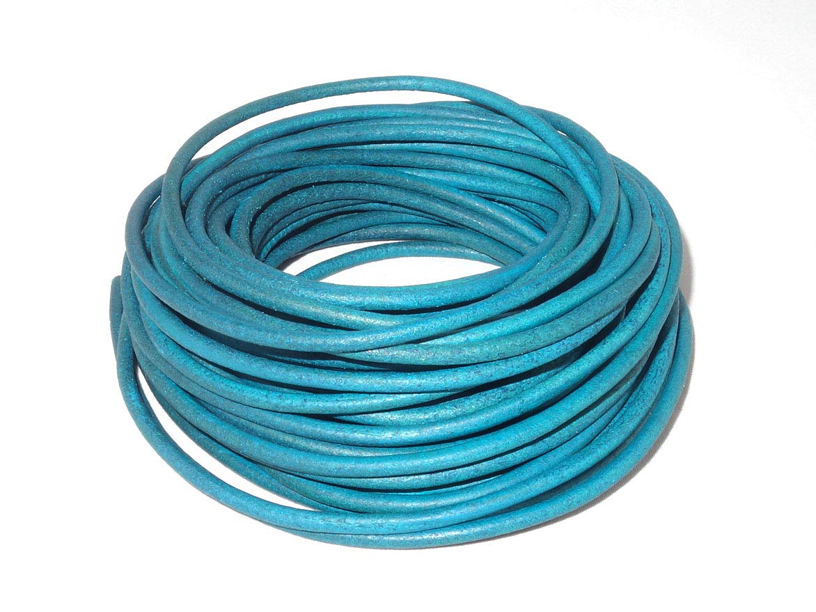 cords craft 2.0mm Genuine Round Leather Cord Leather String Jewelry Making Bracelet Necklace Beading 10 Meters 10.93 Yards