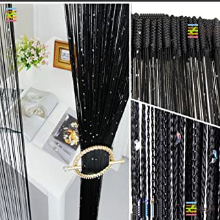 Foire Thread Spangle String Curtains Divider Polyester 40