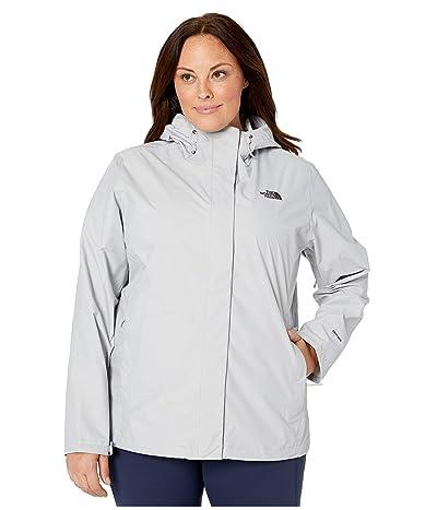 The North Face Venture 2 Jacket Plus Size (TNF Light Grey Heather) Women