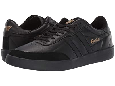 Gola Inca Leather (Black/Black/Black) Men