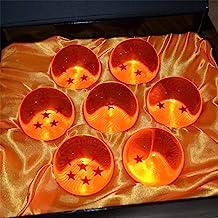 Aebor 7pcs 57mm Crystal Acrylic Resin Glass Ball with Gift Box Dragon Transparent Play Balls