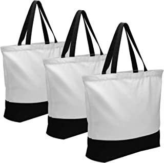 Best blank canvas bags for you to decorate Reviews