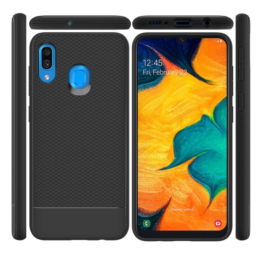 Funda para Galaxy A20, Samsung A20 con protector de pantalla de ...