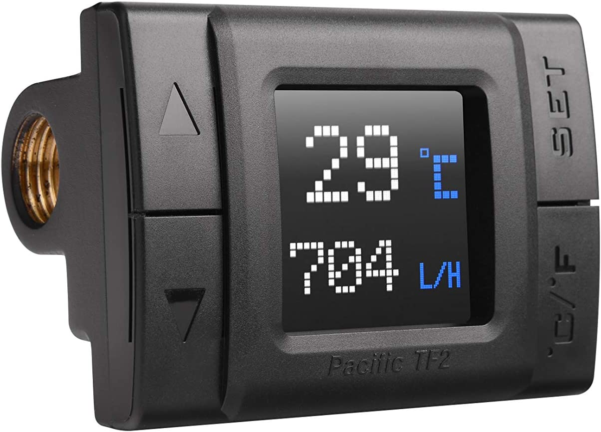 Thermaltake CL-W275-CU00SW-A Pacific TF2 Temperature and Flow Indicator