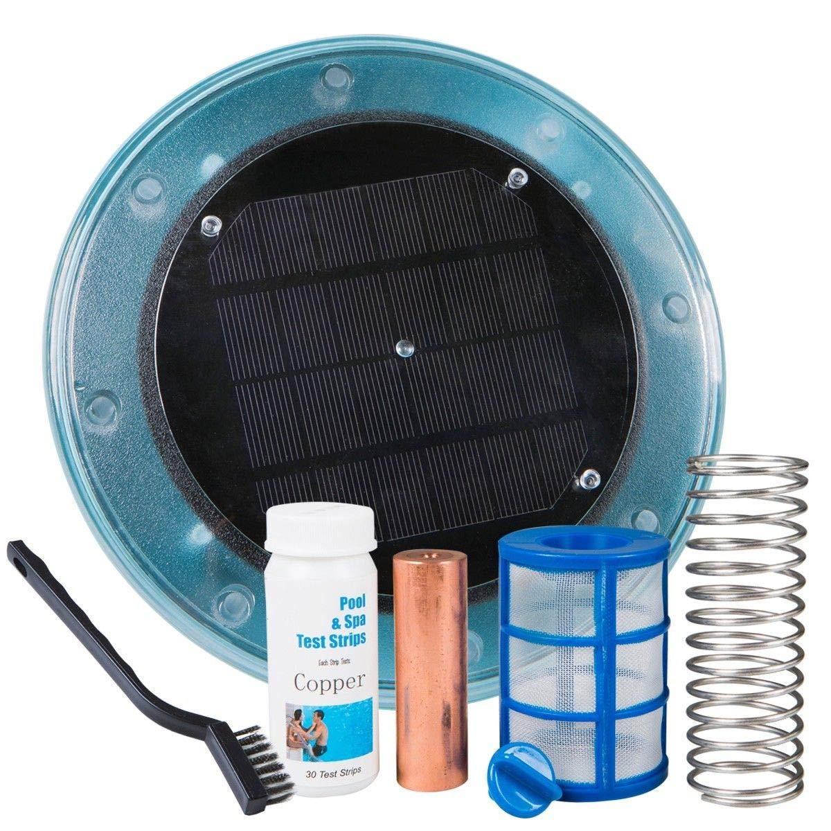 XtremepowerUS - Sistema de ionizador Solar para Piscina, sin Cloro ...