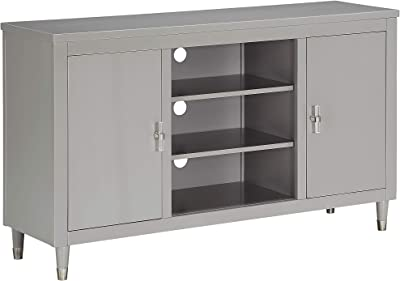 Right2Home Console TV Stand, Gray