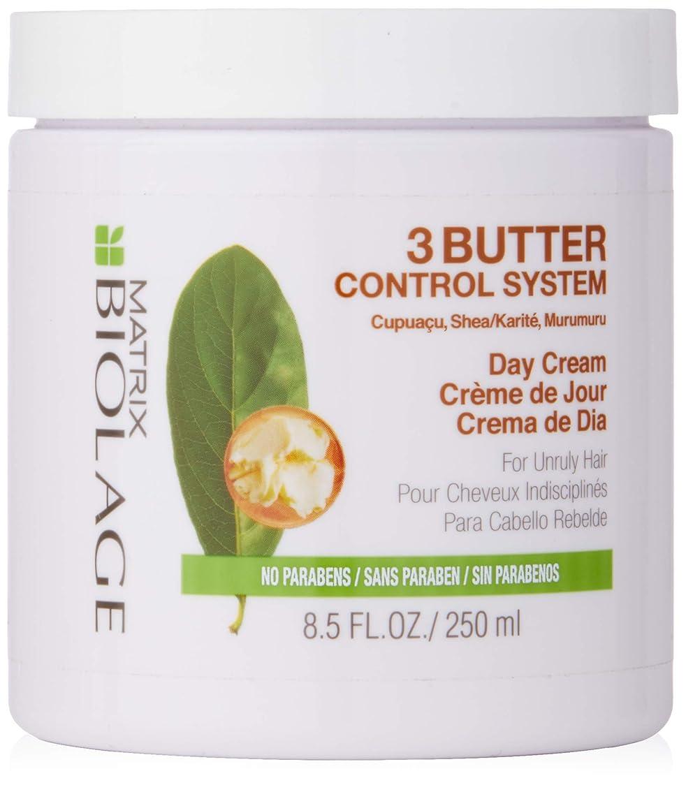 ランドリー実業家よろめくマトリックス Biolage 3 Butter Control Stystem Day Cream (For Unruly Hair) 250ml/8.5oz並行輸入品