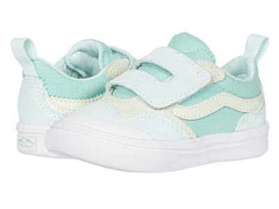 Vans Kids Autism Awareness ComfyCush New Skool V (Infant/Toddler) ((Autism Awareness) Green) Girls Shoes