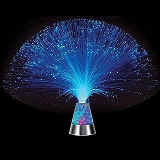 black fibre optic tree with led starburst