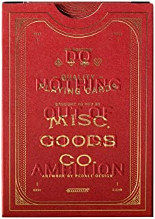 Misc. Goods Co. MGCO Card Deck - Red