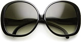 Big Huge Oversized Vintage Style Sunglasses Retro Women Celebrity Fashion