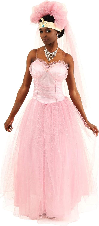 Ahorre hasta un 70% de descuento. Coming Coming Coming to America Wedding Dress X-Large  en linea