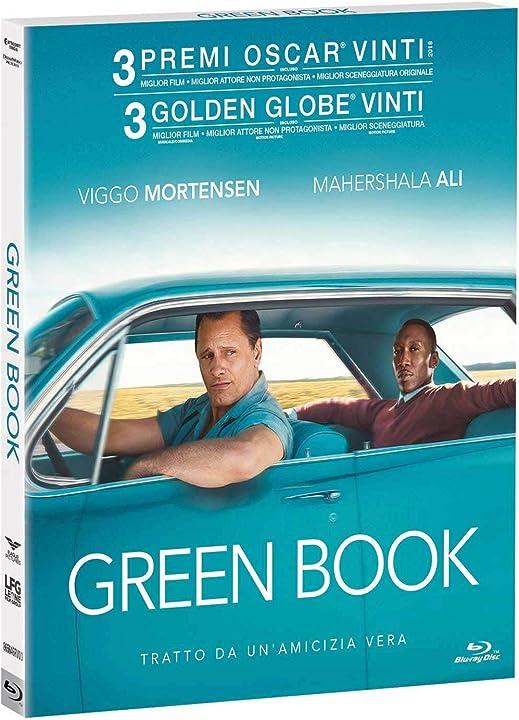 Green book (dvd) B07MZ61Q8V