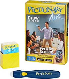 Mattel Games Pictionary Air – Navy Pen Version with 224 Unique Clues [Amazon Exclusive]