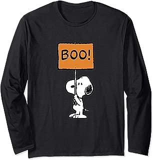 Halloween Snoopy Boo! Long Sleeve T-Shirt