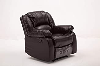 ZOY PU Bear Recliner, Brown, RR9393B-51