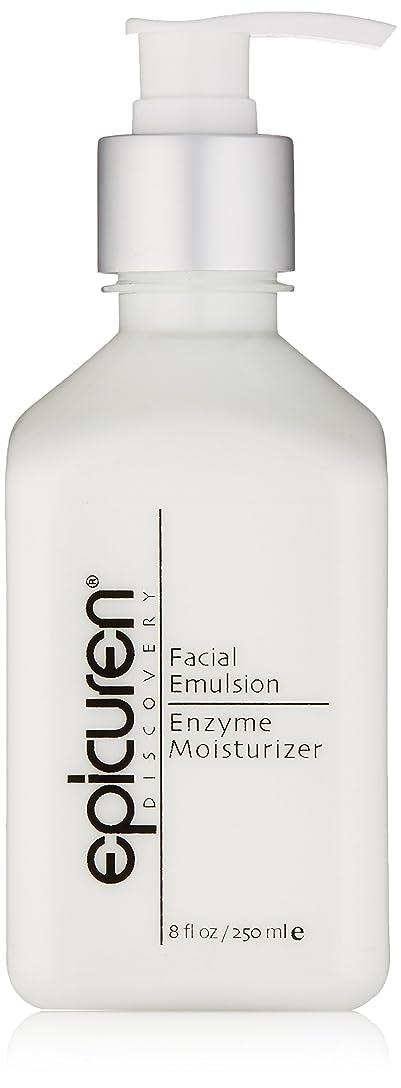 コンピューターゲームをプレイするパーチナシティ訴えるEpicuren Facial Emulsion Enzyme Moisturizer - For Normal & Combination Skin Types 250ml/8oz並行輸入品
