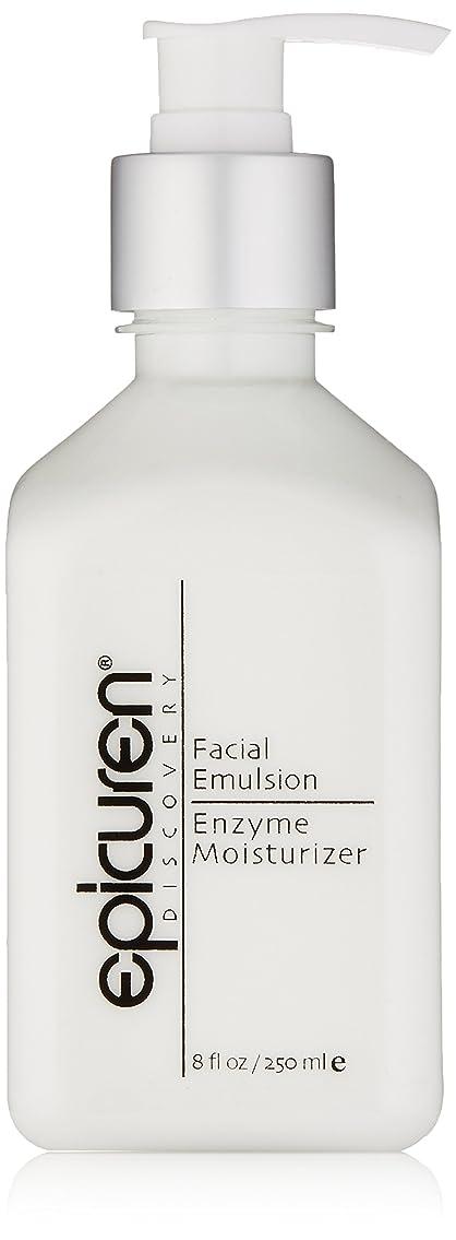 スイペンス成熟したEpicuren Facial Emulsion Enzyme Moisturizer - For Normal & Combination Skin Types 250ml/8oz並行輸入品