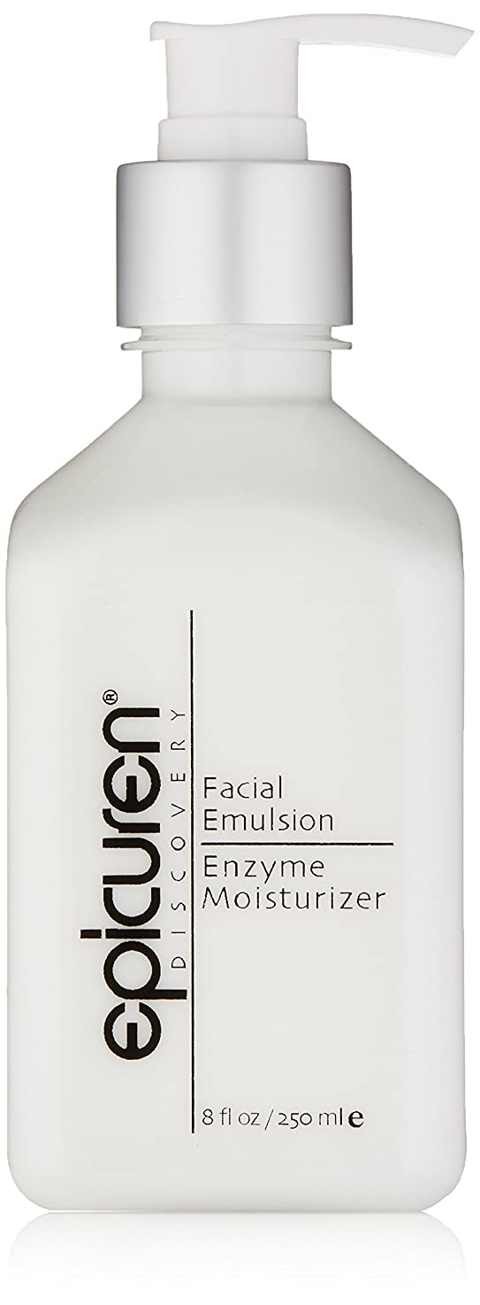 ハント覚醒クラックポットEpicuren Facial Emulsion Enzyme Moisturizer - For Normal & Combination Skin Types 250ml/8oz並行輸入品