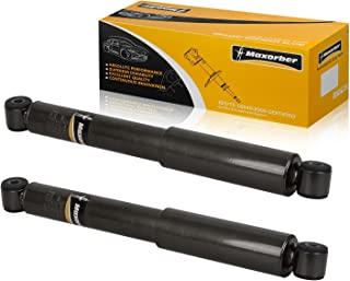 Maxorber Rear Set Shocks Struts Absorber Compatible with Chrysler Town Country Voyager,Dodge Caravan,Plymouth Voyager 1984-2007 Shock Set 344080
