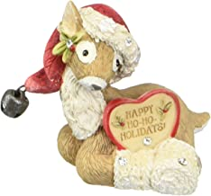 Heart of Christmas HRTCH Reindeer with Santa Hat Figurine