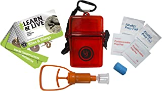 UST Learn & Live Outdoor Educational Kits with Waterproof Cards, Tools and Watertight Case for Hiking, Camping, Backpacking, Hunting and Outdoor Survival