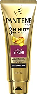 Pantene 3 Minute Miracle Conditioner Long & Strong 400ml