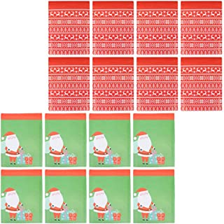 Balacoo 24pcs Christmas Bubble Mailers Kraft Padded Envelopes with Santa Claus Reindeer Pattern Shockproof Bubble Mailers ...