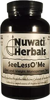 Nuwati Herbals - SeeLessO'Me Herbal Weight Loss Loose Tea, 6 Ounces